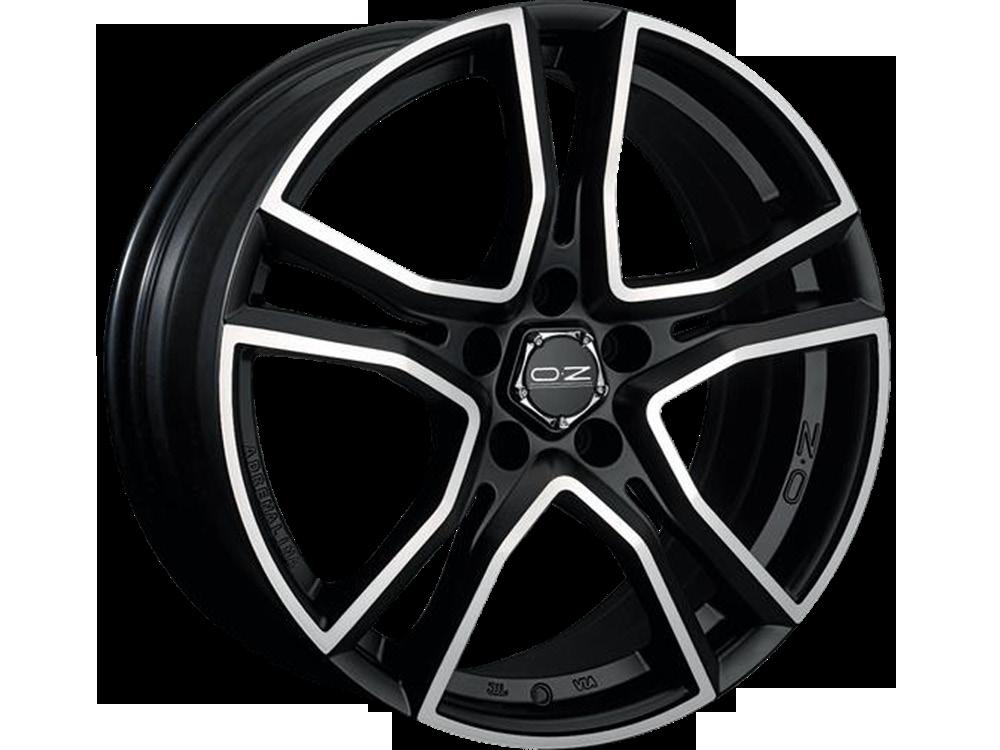 OZ RACING Adrenalina MBDC hliníkové disky 7x16 4x100 ET42 MATT BLACK DIAMOND CUT