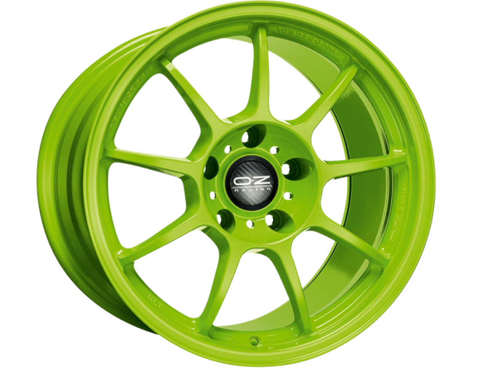 OZ RACING Alleggerita HLT AG hliníkové disky 7x18 5x114,30 ET45 ACID GREEN