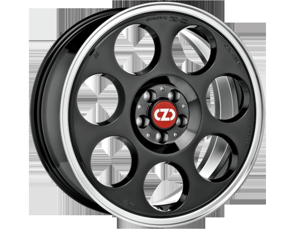 OZ RACING Anniversary 45 BDL hliníkové disky 7,5x18 5x110 ET35 BLACK DIAMOND LIP