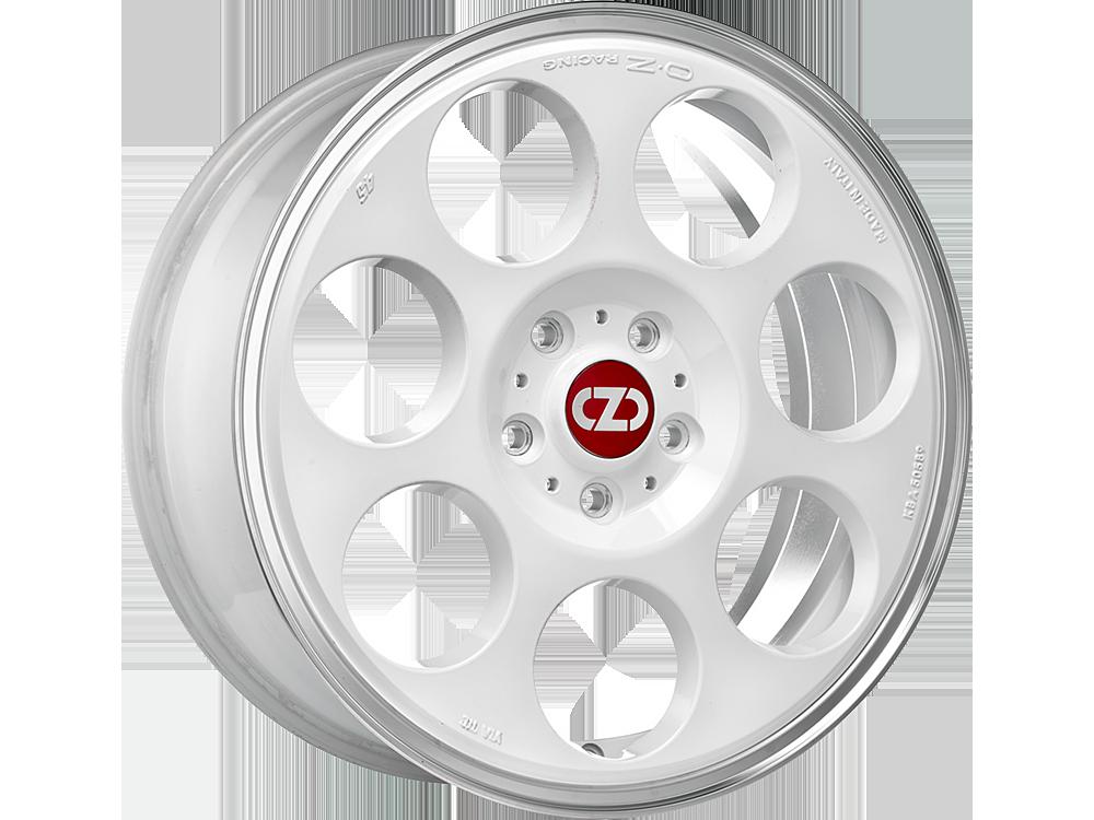 OZ RACING Anniversary 45 WDL hliníkové disky 7x17 5x112 ET50 RACE WHITE DIAMOND LIP