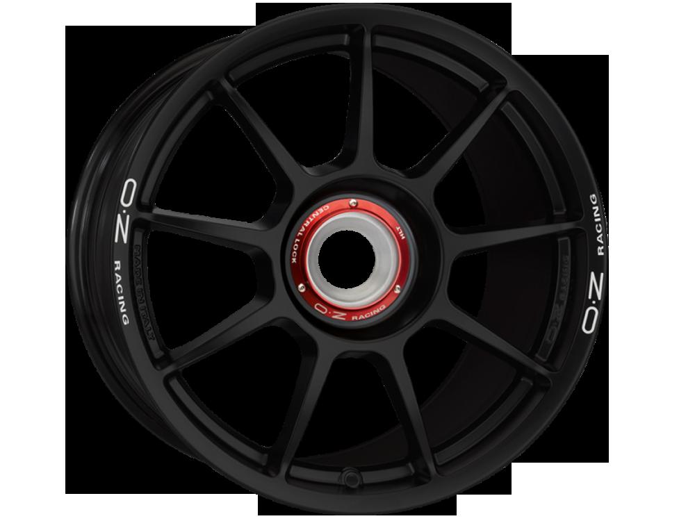 OZ RACING Challenge HLT CL MB hliníkové disky 8,5x18 5x130 ET50 MATT BLACK WHITE LETTERING