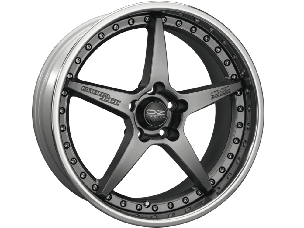OZ RACING Crono III MG hliníkové disky 10x20 5x120 ET20 MATT GRAPHITE SILVER