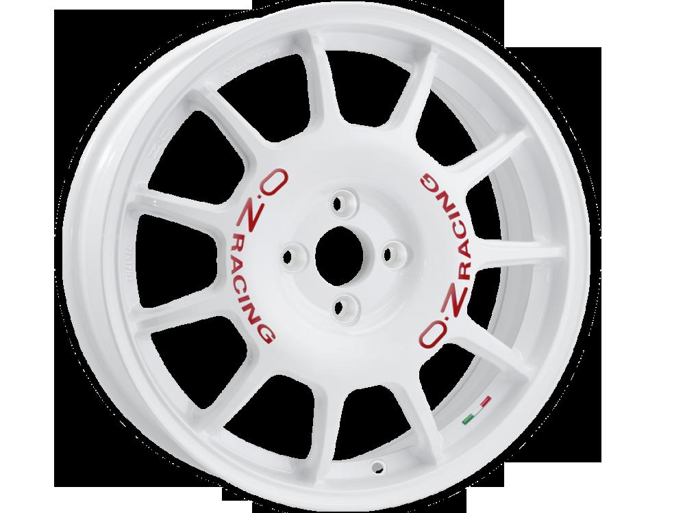 OZ RACING Leggenda W hliníkové disky 7x17 4x100 ET37 WHITE RED LETTERING