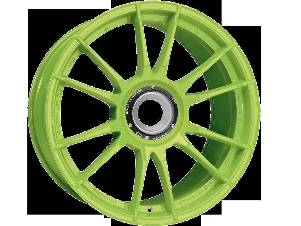 OZ RACING Ultraleggera HLT CL AG hliníkové disky 11x19 5x130 ET51 ACID GREEN