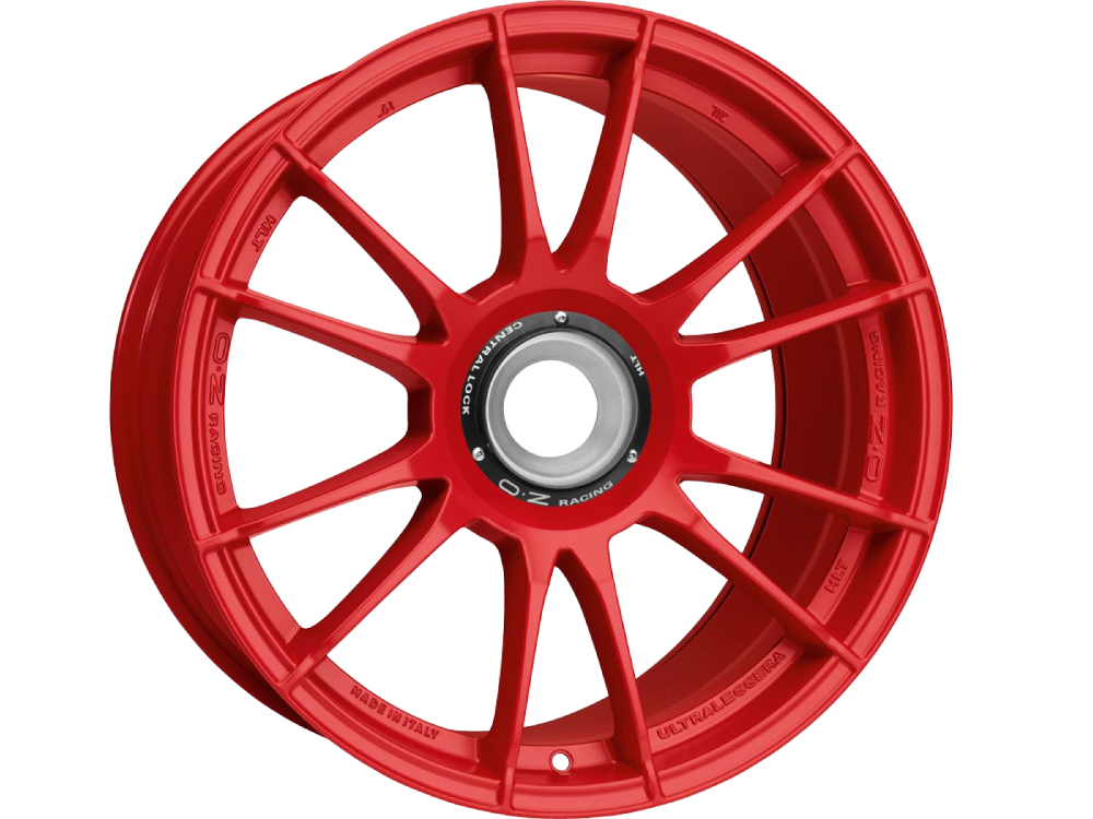 OZ RACING Ultraleggera HLT CL MR hliníkové disky 11x19 15x130 ET51 RED
