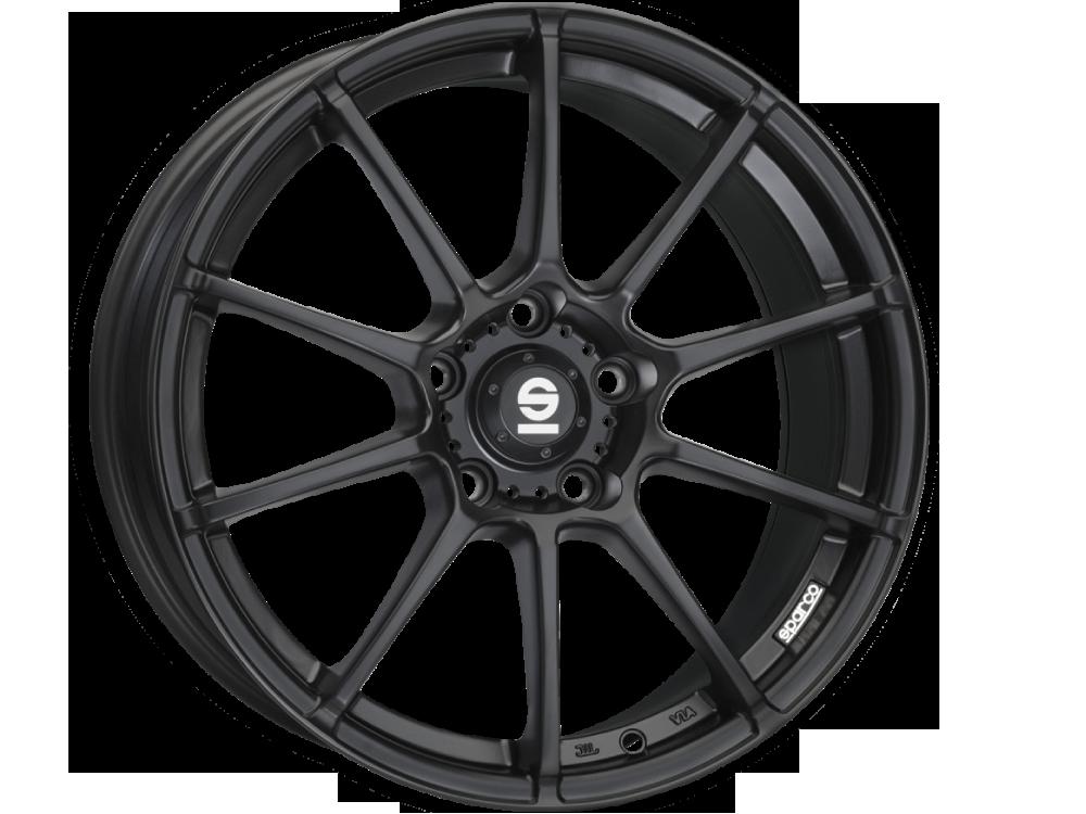 SPARCO Assetto Gara MB hliníkové disky 7x17 4x100 ET30 MATT BLACK
